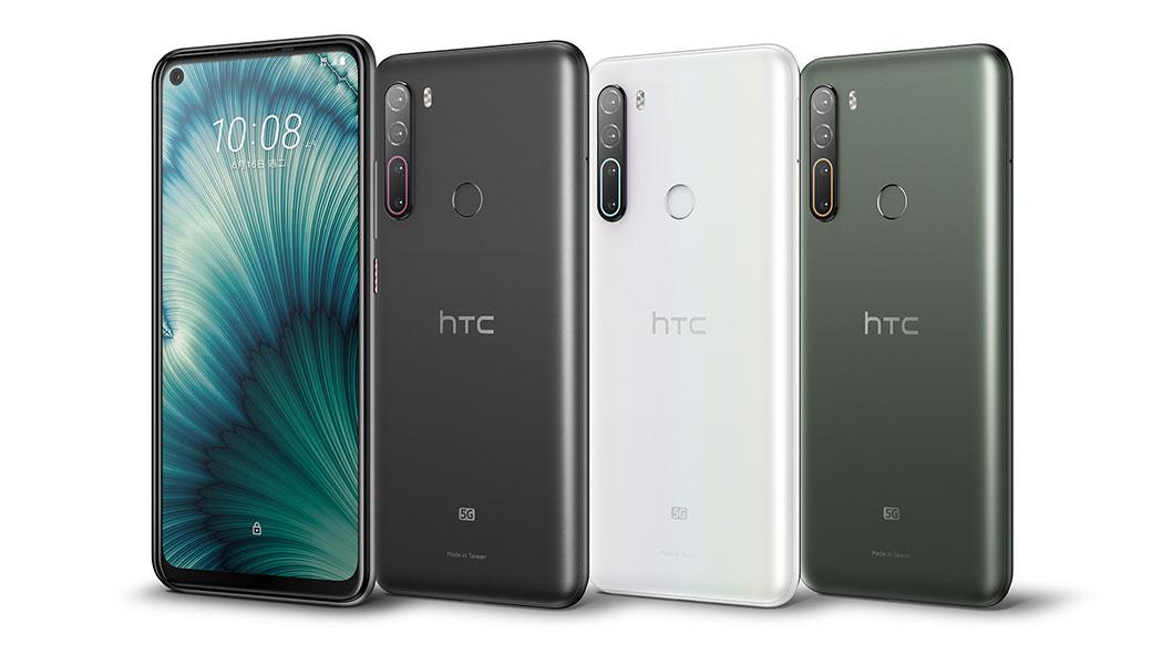 深沉黑紅搭配!HTC U20 5G推出曜岩黑新色