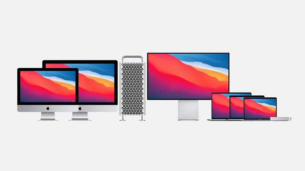 蘋果發表M1自製處理器,並推出搭載M1晶片的新款MacBook Air、MacBook Pro 13″與Mac Mini