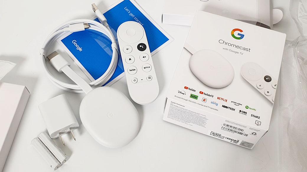 Chromecast with Google TV開箱:讓你的一般顯示器瞬間變身Android TV智慧電視