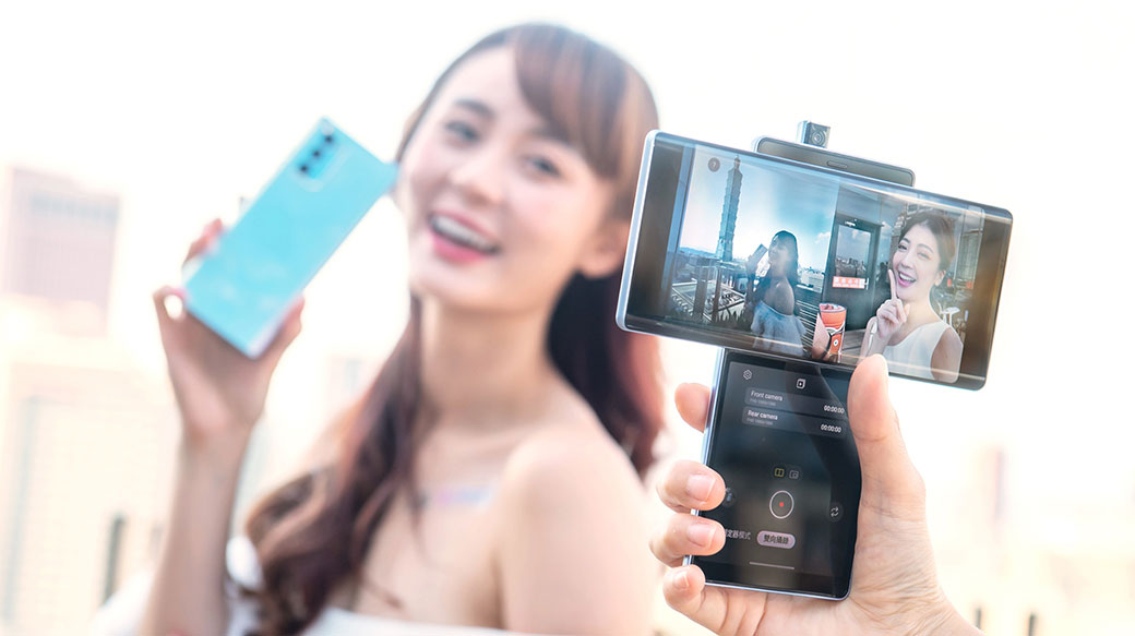 LG WING旋轉雙螢幕手機在台推出!價格26K有找、12/1開賣(開箱動手玩)