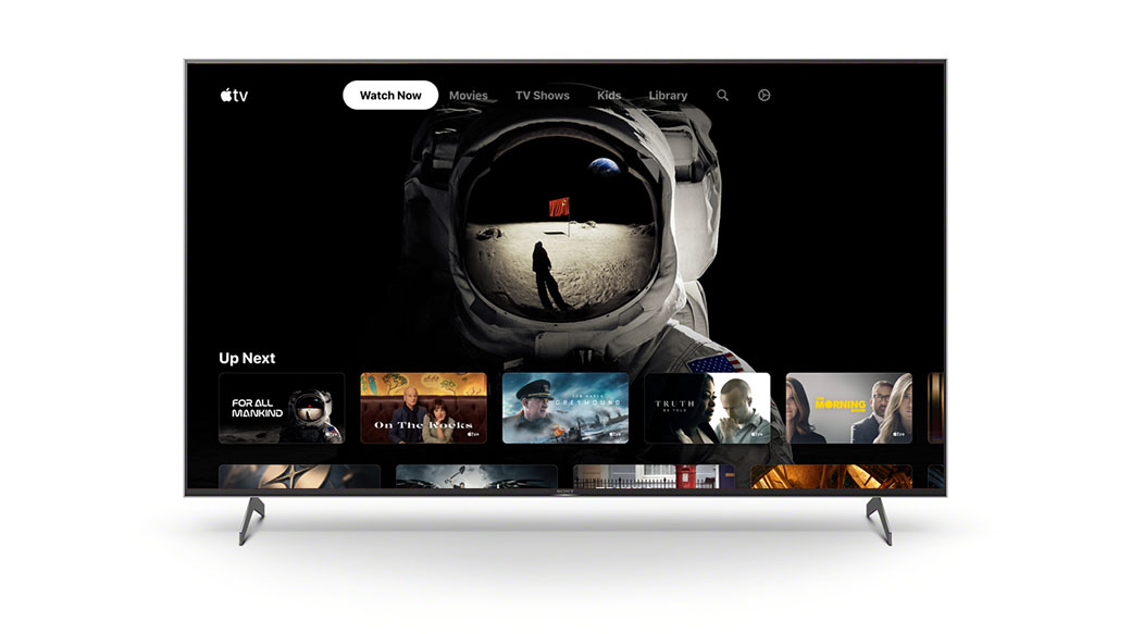 Sony宣布特定BRAVIA電視將可支援Apple TV觀看,X9000H系列率先升級