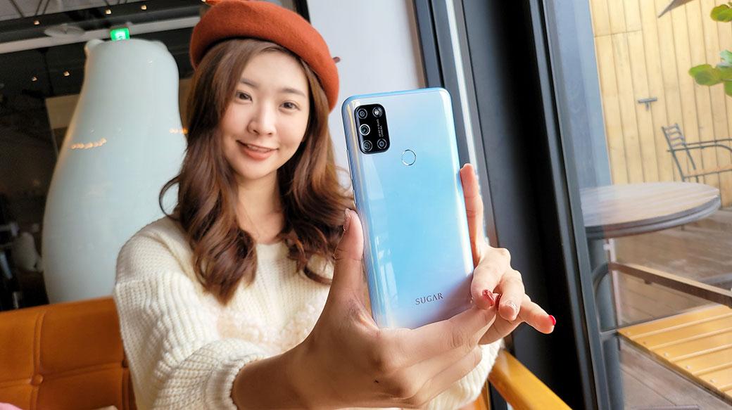 AI四鏡頭、平價萌拍輕選擇!糖果手機SUGAR S50開箱評價!6.55吋螢幕+5K大電池,電力超強!