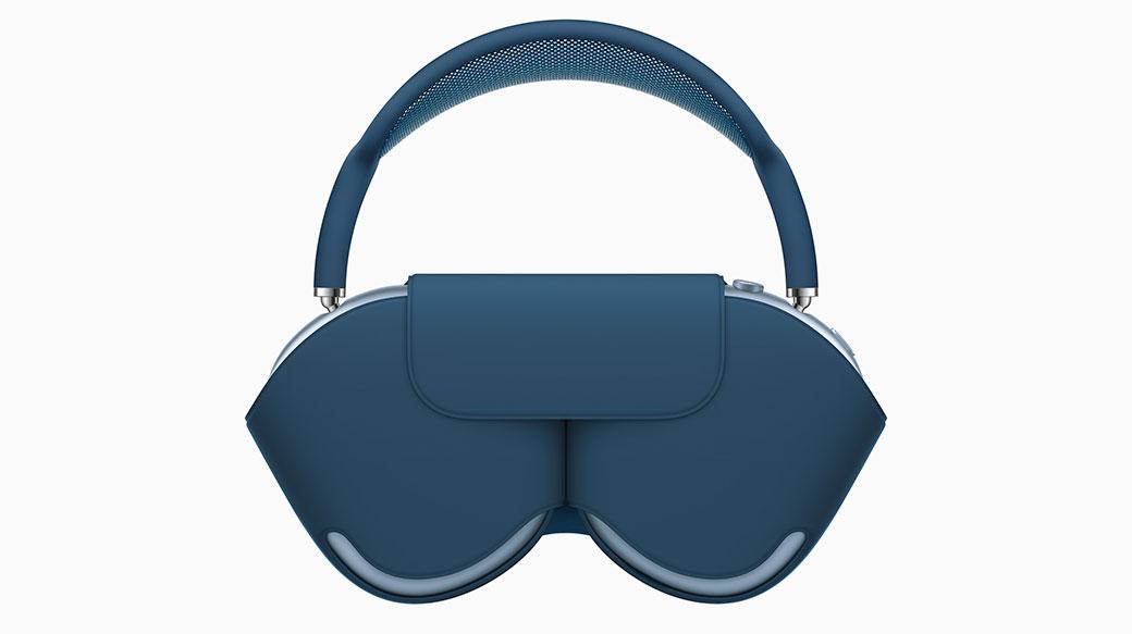 蘋果正式公布首款耳罩式主動降噪耳機Apple AirPods Max,售價NT$18490