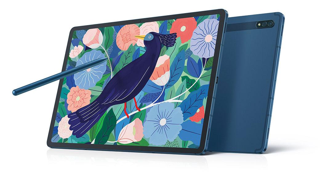 三星在台推出Galaxy TabS7 / S7+ Wi-Fi版新色「星霧藍」