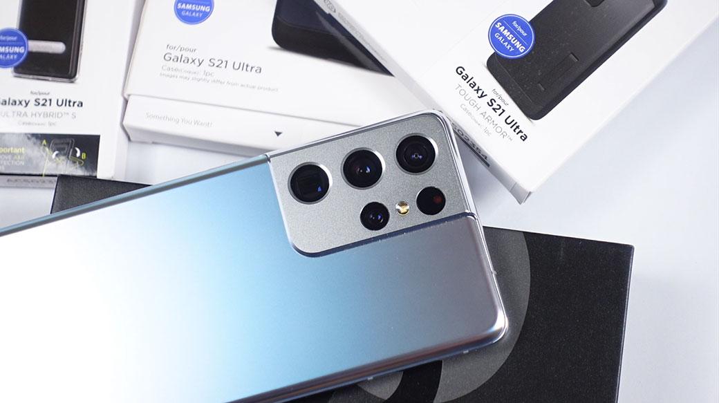 三星S21 Ultra相機實測!與歐版S21U、台版N20U/S20U實拍PK評價(Spigen S21U保護殼開箱)