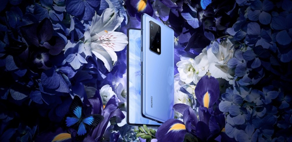 華為揭曉新款摺疊螢幕手機Mate X2,改採與三星Fold2類似的內摺設計,搭配特殊楔形機身