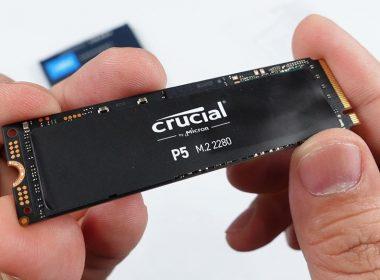 美光電競固態硬碟Crucial P5 PCIe NVMe M.2 SSD開箱實測!讀3400MB/s、寫3000MB/s的極速體驗! @LPComment 科技生活雜談