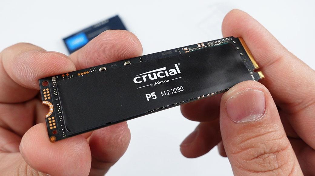 美光電競固態硬碟Crucial P5 PCIe NVMe M.2 SSD開箱實測!讀3400MB/s、寫3000MB/s的極速體驗!