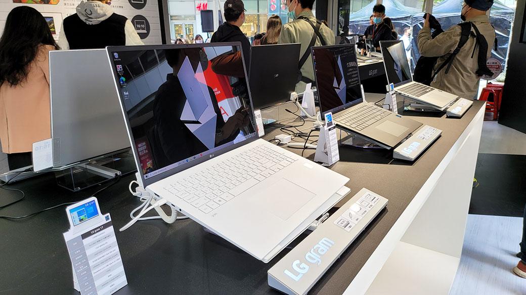 2021新款LG gram超輕筆電登台,14、16、17三尺吋,通過Intel Evo認證