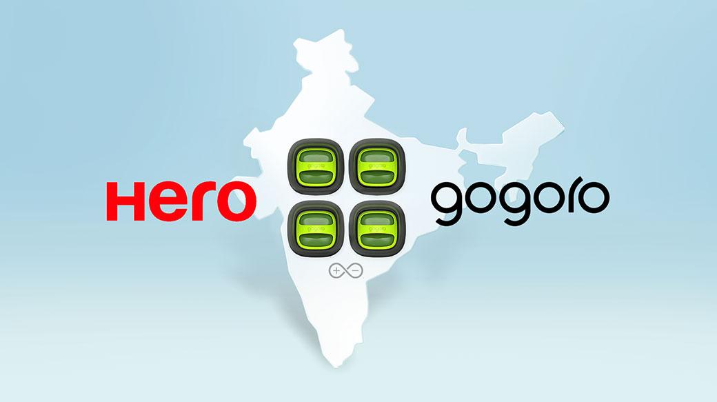 Gogoro攜手印度最大機車品牌Hero MotoCorp,推動PBGN設計與智慧電池交換網路應用