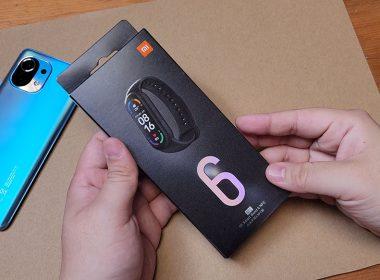 小米手環6 NFC版快速開箱,與小米手環5簡單比一比 @LPComment 科技生活雜談