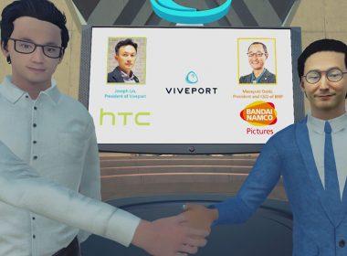 HTC宣布與萬代南夢宮影業合作,發展VR動畫內容 @LPComment 科技生活雜談