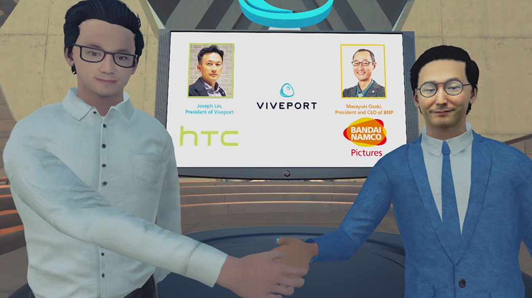 HTC宣布與萬代南夢宮影業合作,發展VR動畫內容