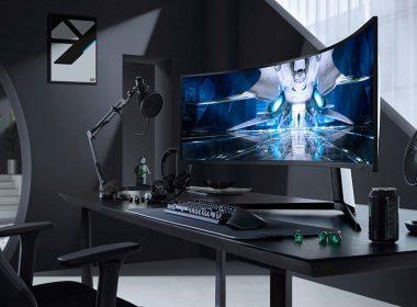 全球首款曲面量子Mini LED!三星推出1000R頂級電競顯示器Odyssey Neo G9 G95NA @LPComment 科技生活雜談