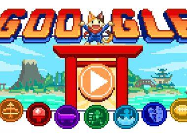 迎接2020東京奧運,Google首頁推出結合桃太郎等人物與多項競技的16bit風格日系RPG遊戲 @LPComment 科技生活雜談