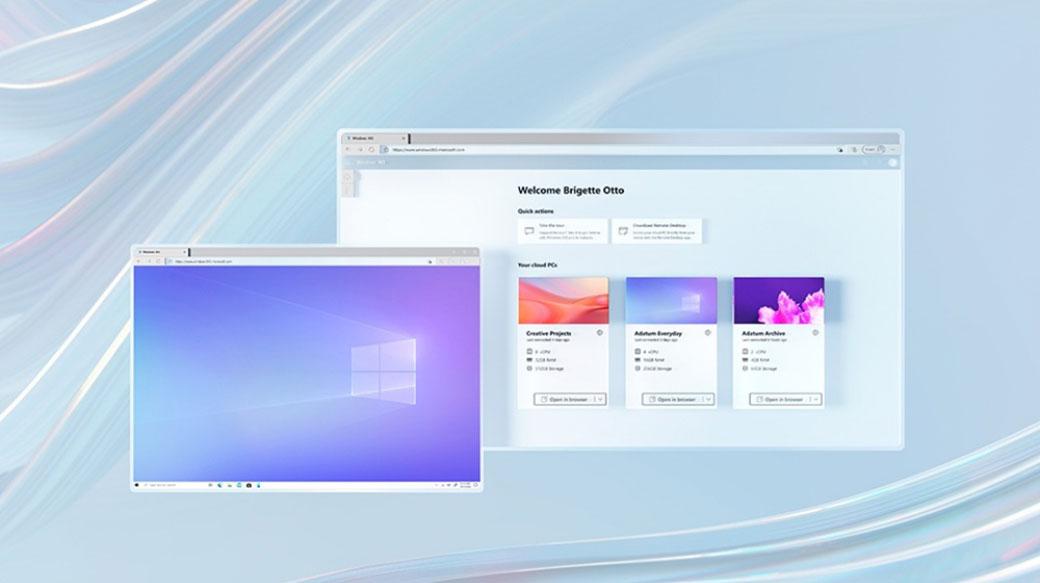 微軟發表Windows 365服務,讓任何裝置都能使用Windows 10或Windows 11