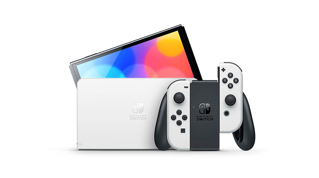 升級版Nintendo Switch(OLED款式)發表,搭載7吋OLED螢幕
