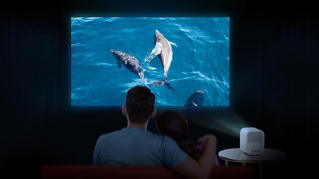小米智慧投影機2在台上市,售價14,995元,早鳥再折一千