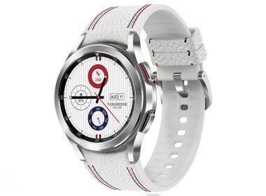 三星Galaxy Watch4 Classic Thom Browne限量版在台推出,內附三組TB設計款錶帶 @LPComment 科技生活雜談