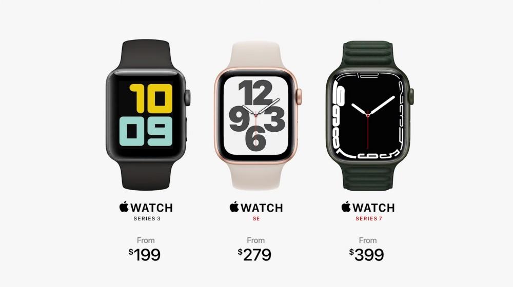 Apple Watch Series 7登場!更大、更滿版的螢幕,更耐用與並加入快充設計