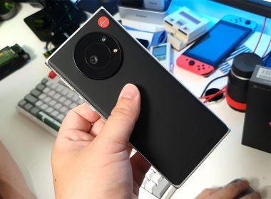 徠卡Leitz Phone 1閒聊開箱:經典可樂標加持,黑白照質感很好 @LPComment 科技生活雜談