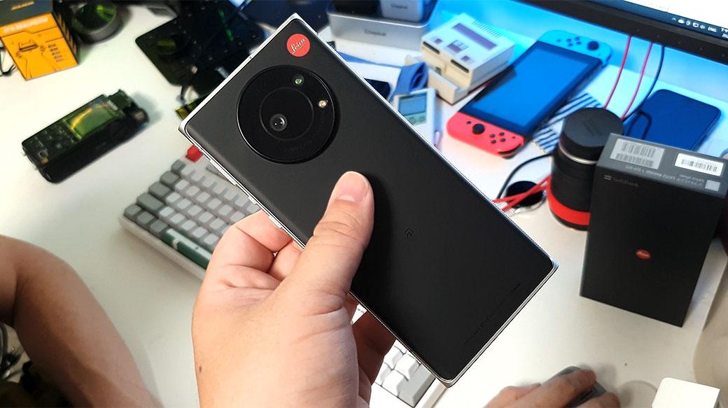 徠卡Leitz Phone 1閒聊開箱:經典可樂標加持,黑白照質感很好