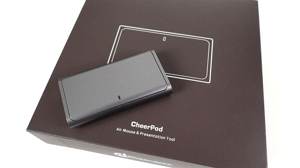 Cheerpod智慧滑鼠開箱:超輕超小、桌面與空中兩用!藍牙滑鼠+觸控板+簡報筆3合1商務神器